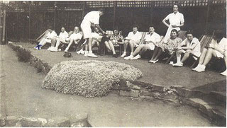 Scenes from Drummond Tennis Club in the 1930s